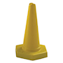 Yellow sand weighted cone 750mm high