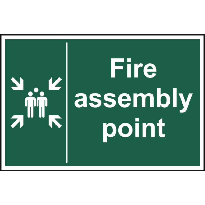 Fire Assembly Point Sign Ese Direct