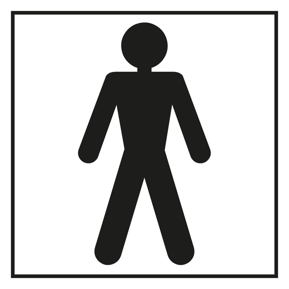 Bathroom Sign Male bathroom male sign