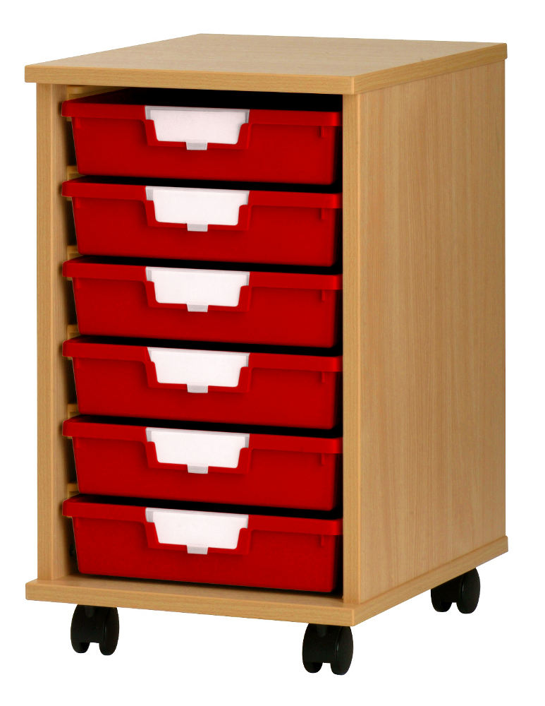 Wooden Racks With Plastic Storage Trays With Free Uk Delivery