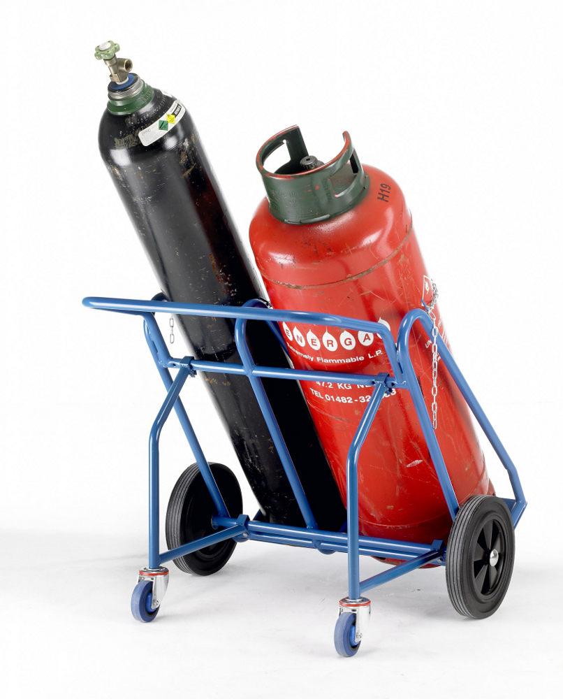Oxygen & Propane Double Cylinder Trucks / Twin Cylinder ...