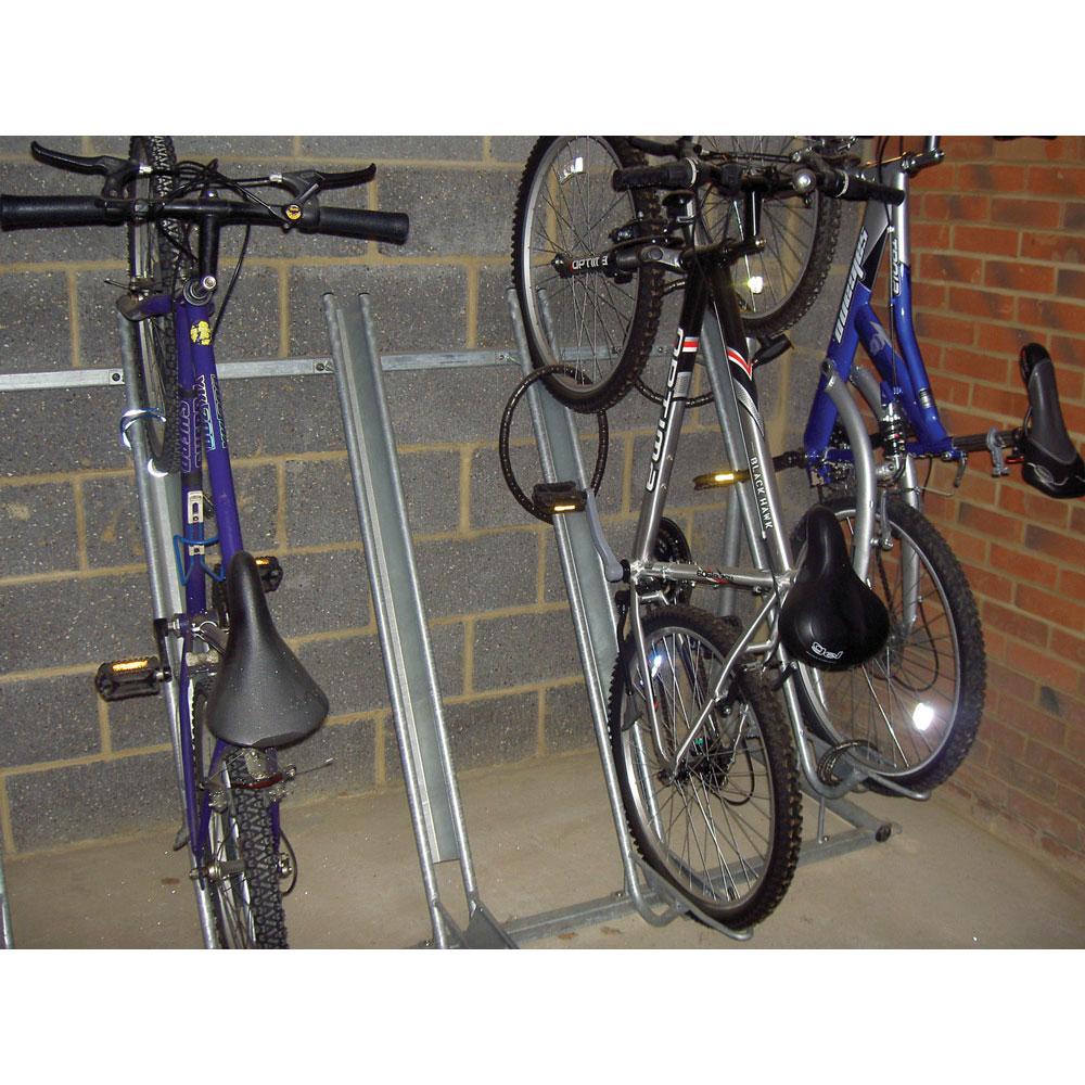 Semi Vertical Bike Rack Cycle Racks Ese Direct