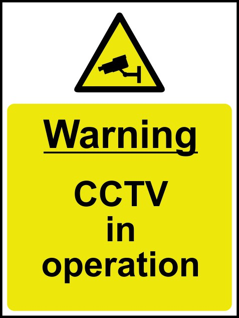 picture about Printable Watch Your Step Sign identify CCTV Indications / Community Knowledge Signs and symptoms