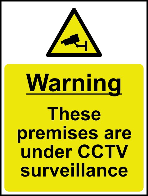 Cctv Signs Public Awareness Signs Ese Direct