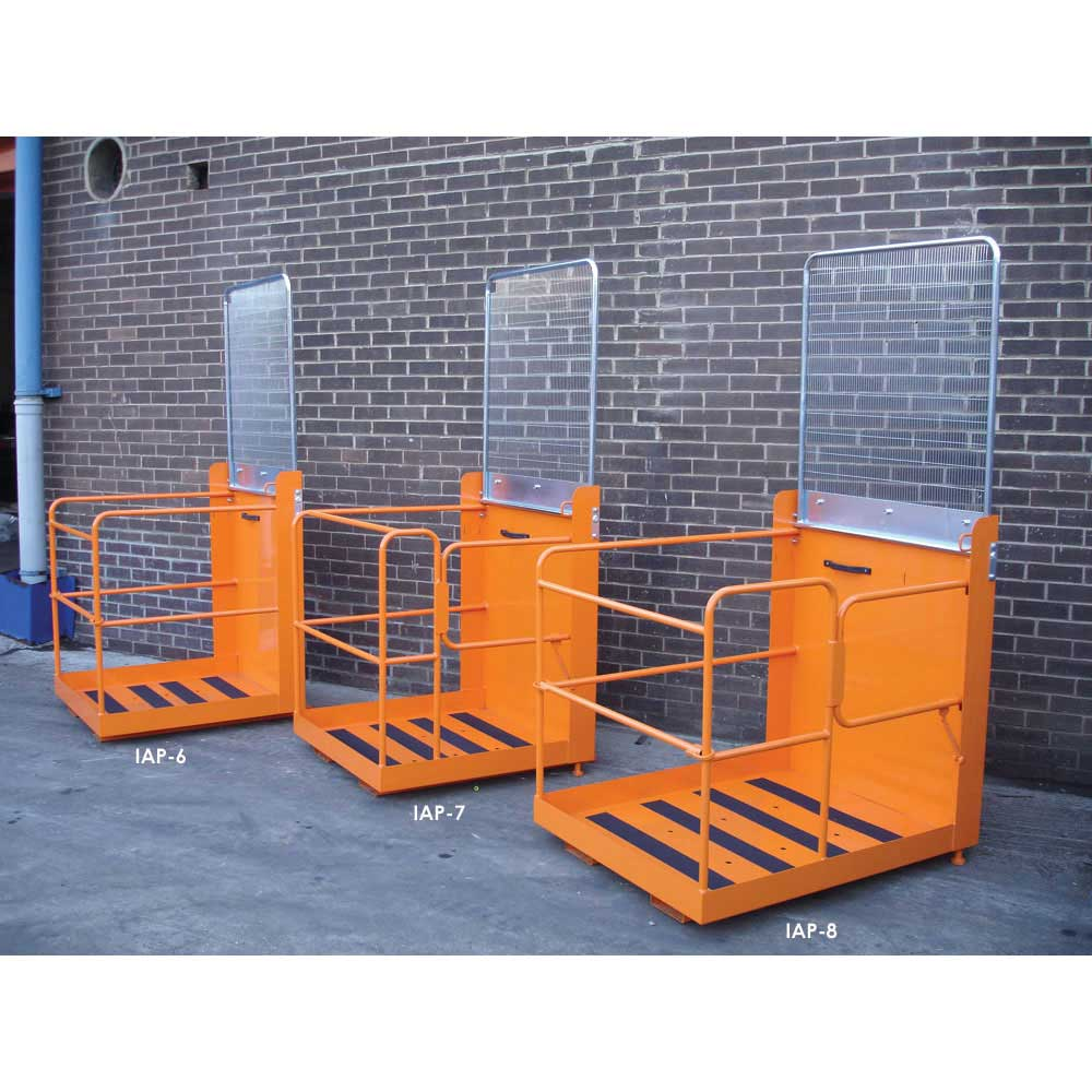 Personnel Access Platform 0.95m x 0.95m with lift up bar
