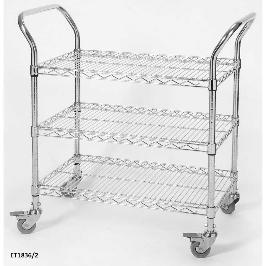 Eclipse Wire Catering Trolleys Metal Wire Shelf Trolley
