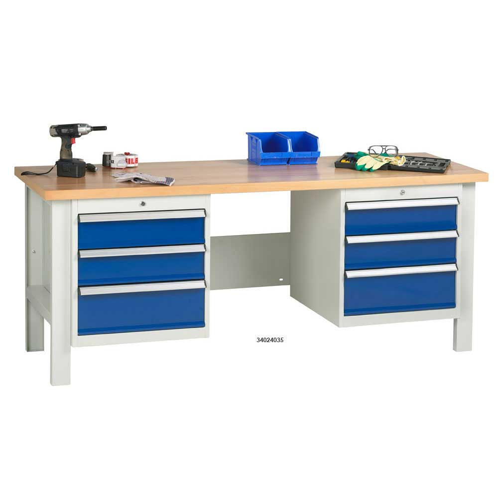 Industrial Workbenches With Drawers Cupboards Ese Direct