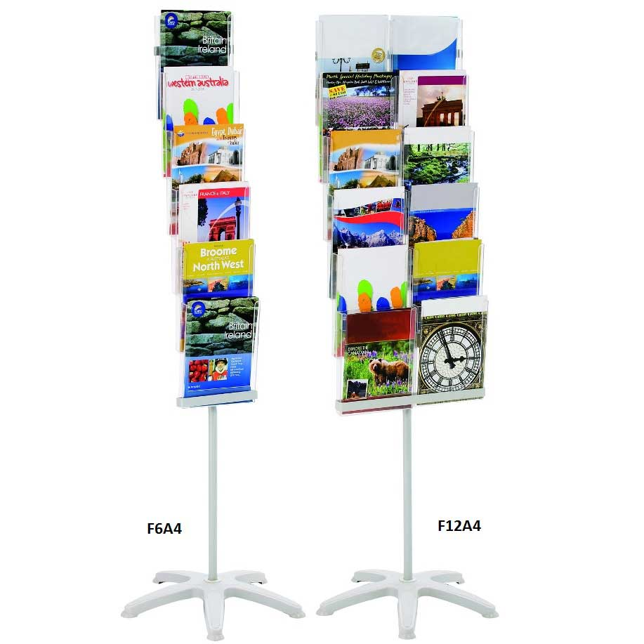 Expandastand Foyer Stand  16 x 13 A4 & 6 x A4 Pockets