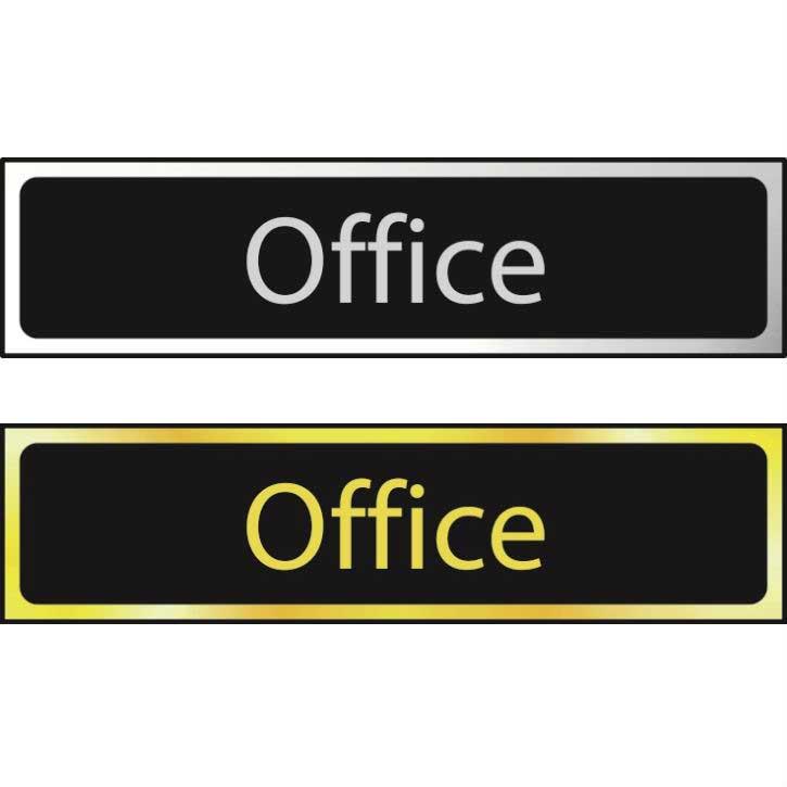 Office Sign POL (200 x 50mm)