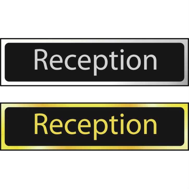 Reception Sign CHR (200 x 50mm)