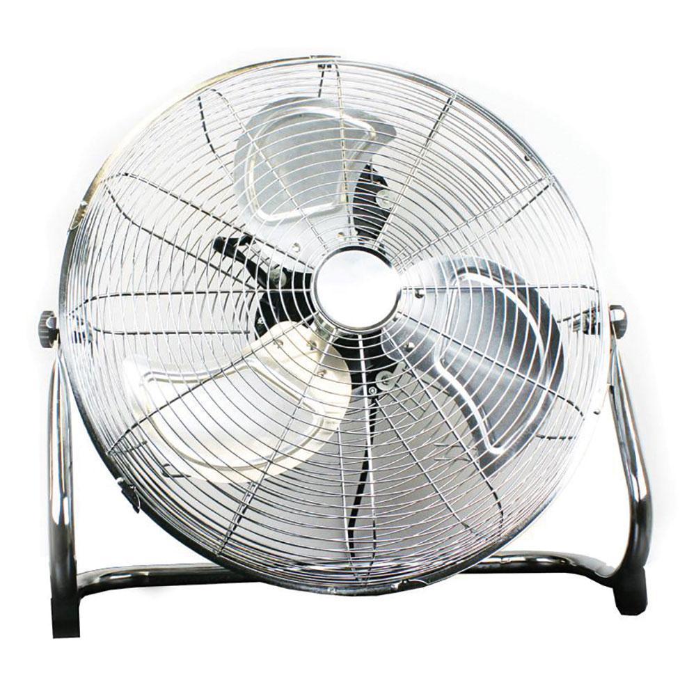 "18"" Chrome Floor Fan"