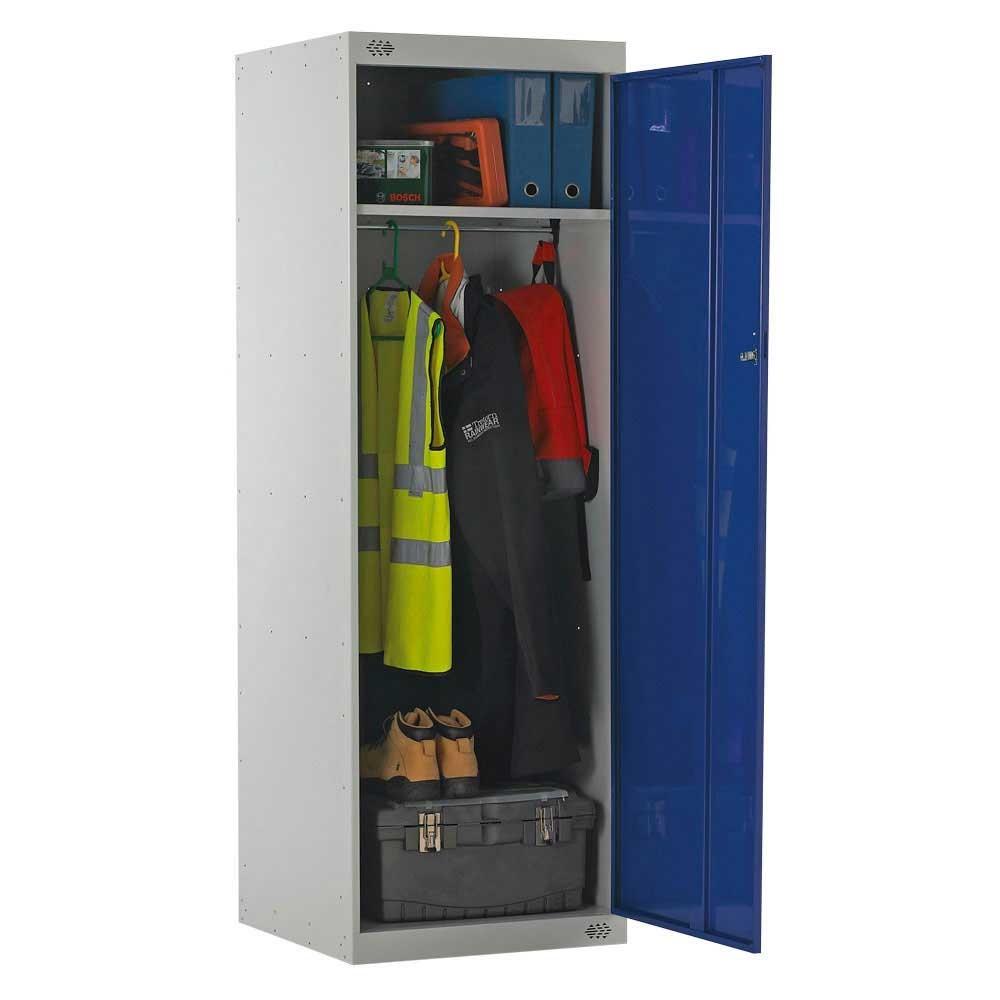 1800 H x 600 W x 600 D 2 Compartment Police Locker