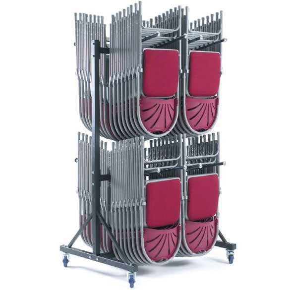 High Hanging Storage Trolley for 136x 2000 or 72x 2600 Series Chairs
