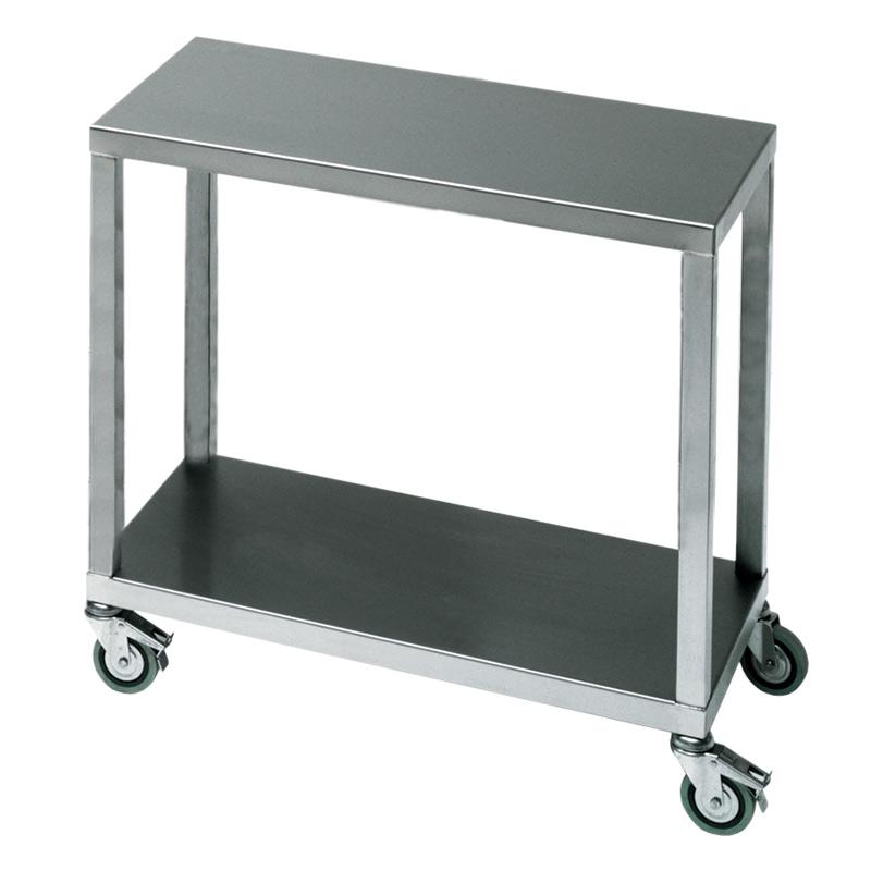 Stainless Steel 2 Tier Trolley 900 wide x 420 deep