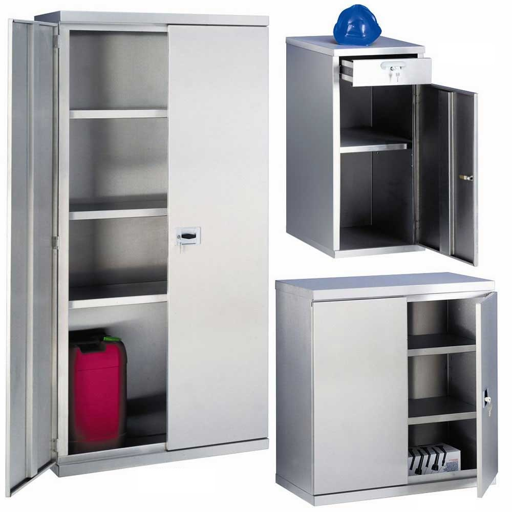 304 grade Stainless Steel Cupboards / Cabinets - ESE Direct