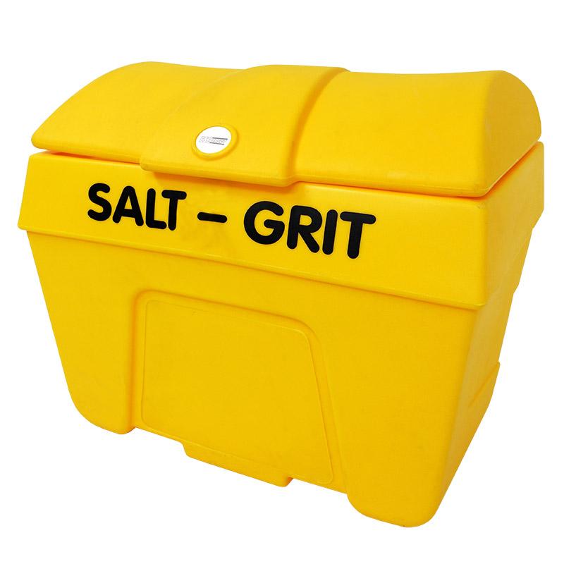 Yellow 400L Heavy-Duty Polyethylene Grit Bin