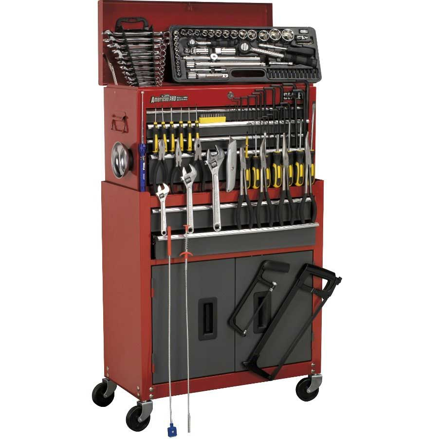 Sealey American Pro 6 Drawer Tool Chest with 128 Tools