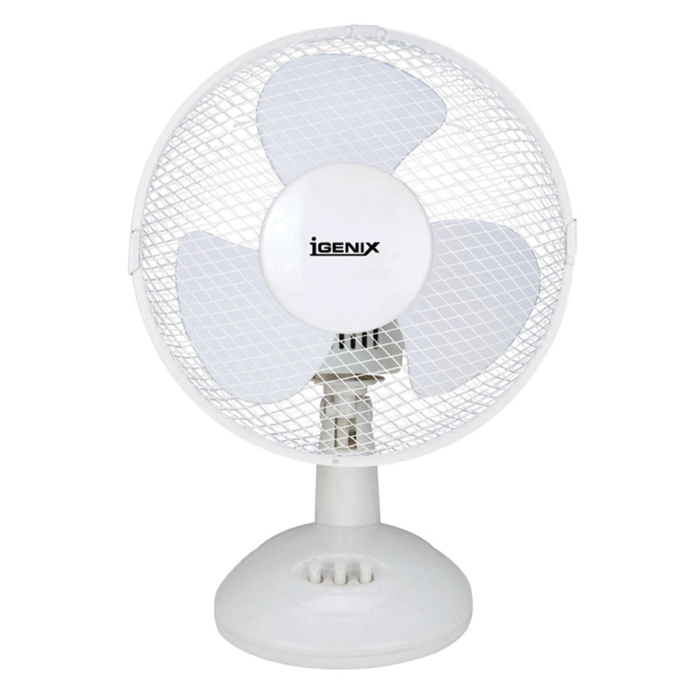 Oscillating 9 Office Desk Fan With Adjustable Tilt Angle