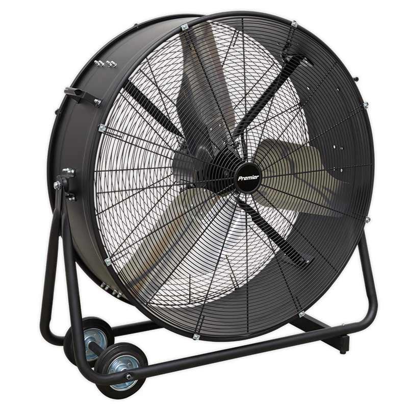 "Sealey 36"" Premier Industrial High Velocity Drum Fan"