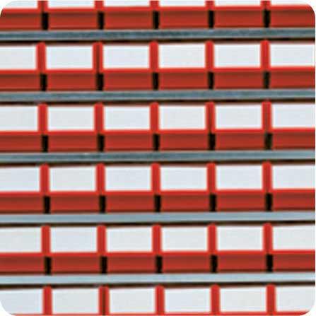 Set of 100mm Castors for High Density Storage Cabinet