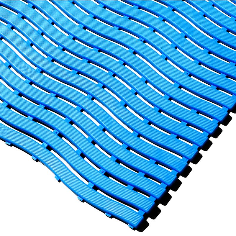 Anti-bacterial Kumfi Step Leisure Matting Step 600mm x 15m