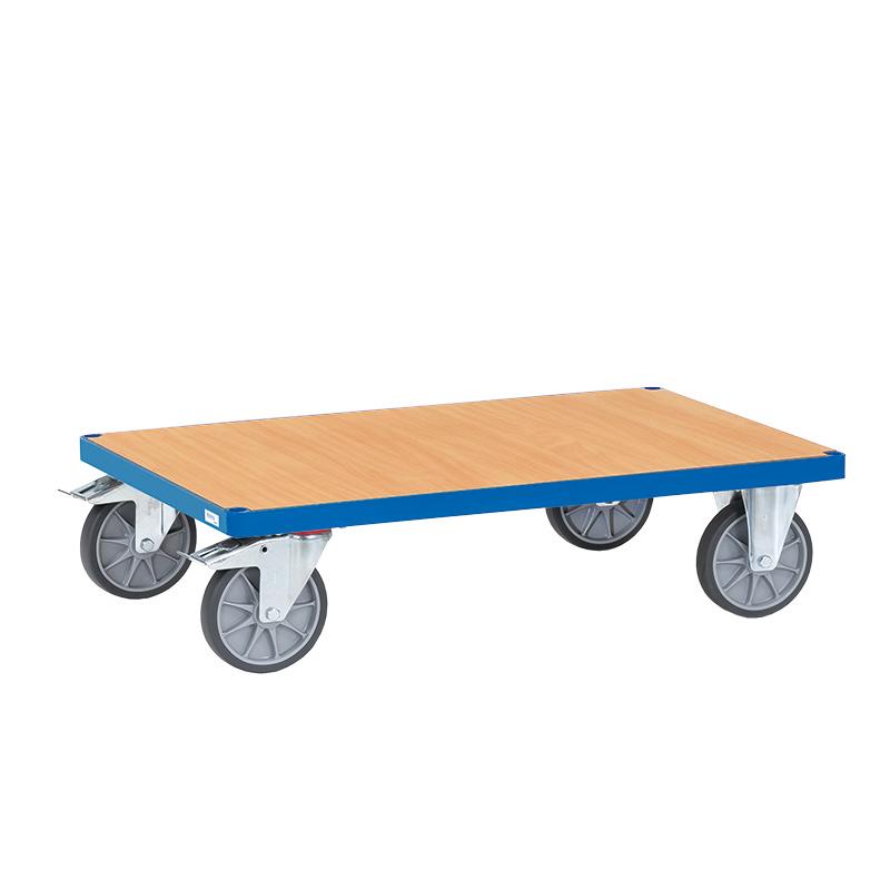 Beech Veneer Platform Trolleys
