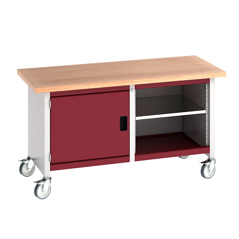 Bott Cubio Mobile Storage Benches 1500mm Wide