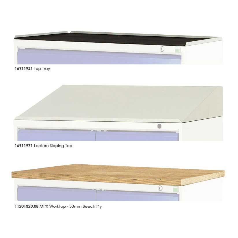 Bott cabinet tops for 500mm or 750mm wide drawer cabinets for Kitchen cabinets 500mm wide