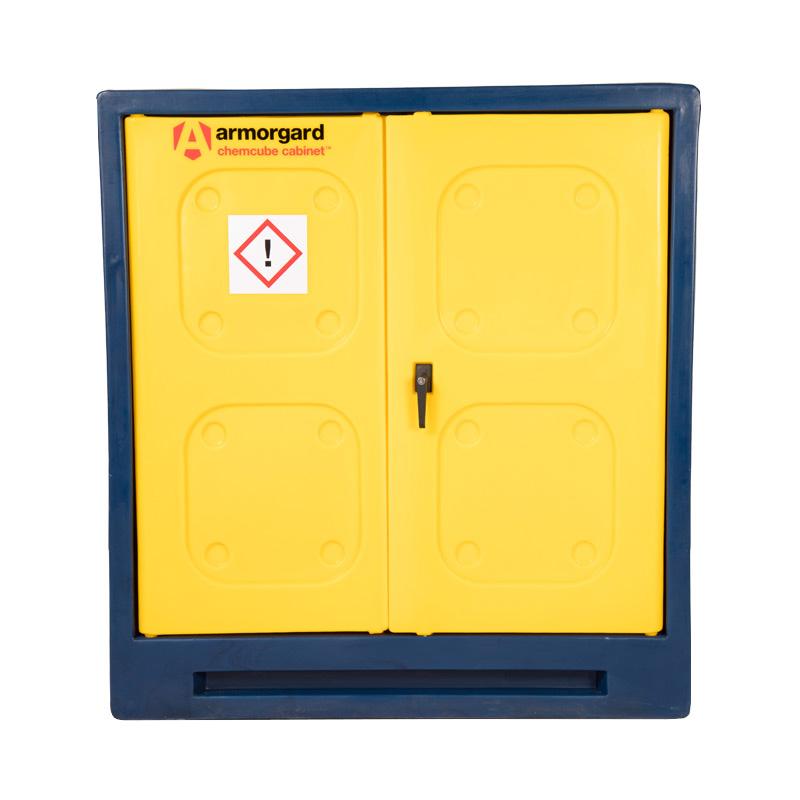 Armorgard ChemCube Plastic Chemical Storage Cabinet