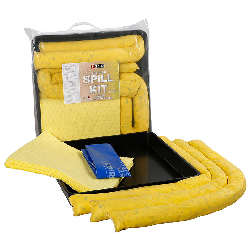 Chemical Spill Kits with drip tray 90 litre