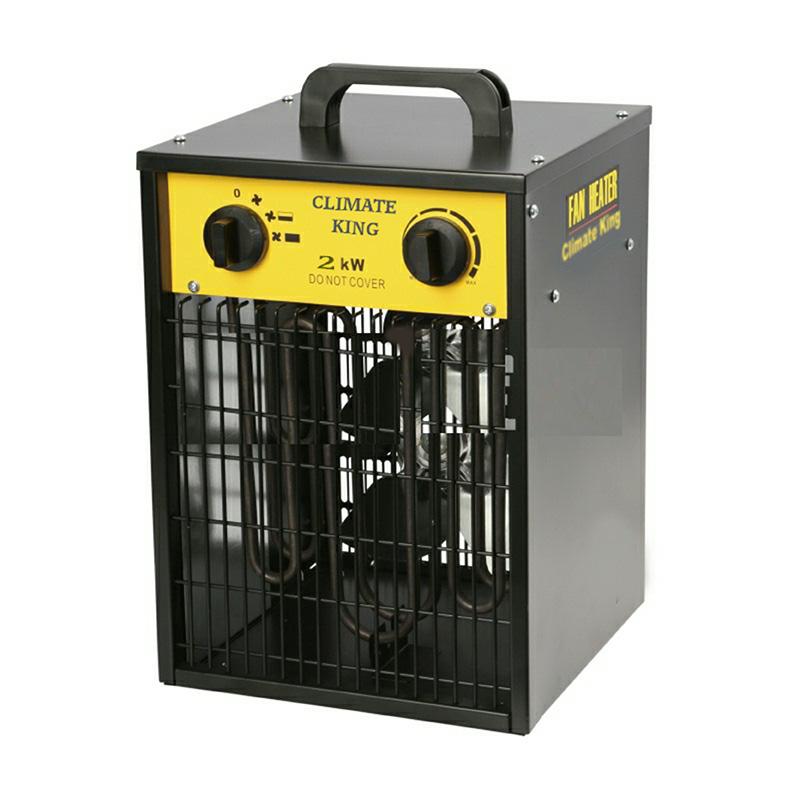 Climate King Box Fan Heater 2Kw or 3Kw