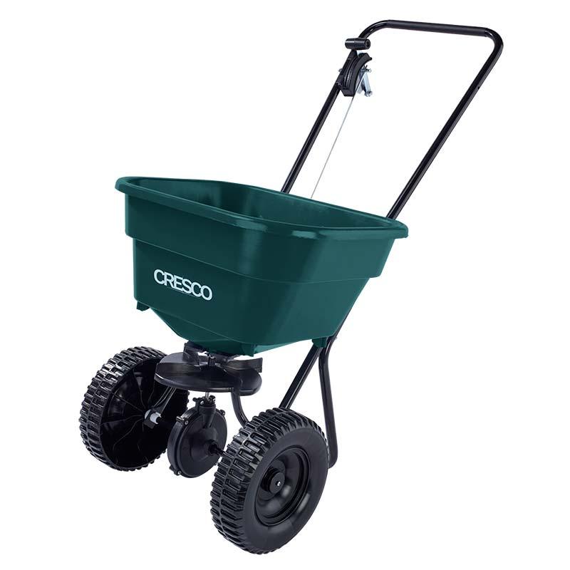 Cresco 26kg Spreader for All Seasons -1.5-3m spread width - Plastic wheels