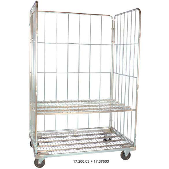 Demountable Jumbo Roll Containers 500kg cap