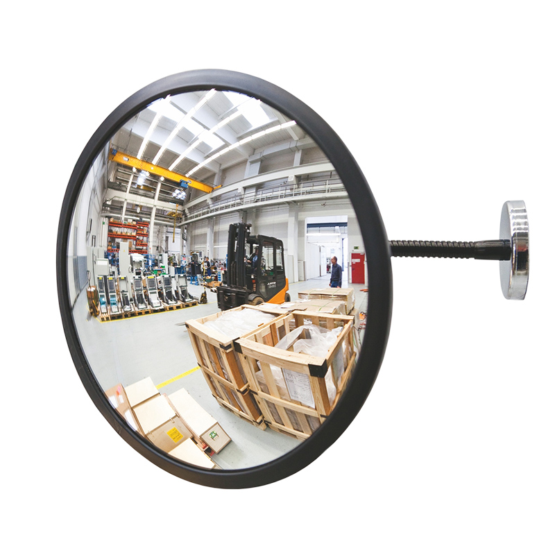 DETECTIVE Acrylic Glass Observation Mirror 300mm Dia, Magnetic Fixing