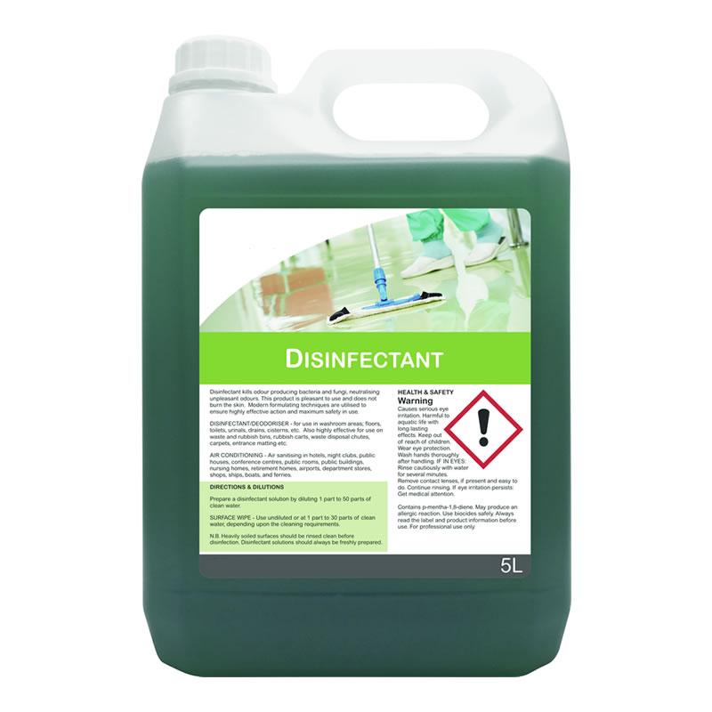 Disinfectant Liquid - 2 x 5 litre bottles