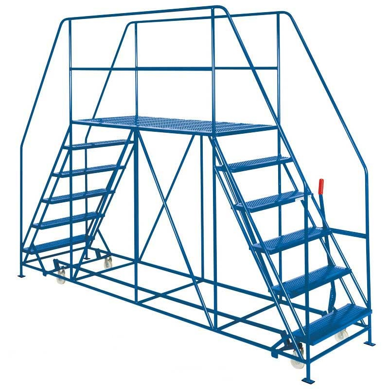 Double Side Access Platforms 1.5m platform 8 Step 2032 high