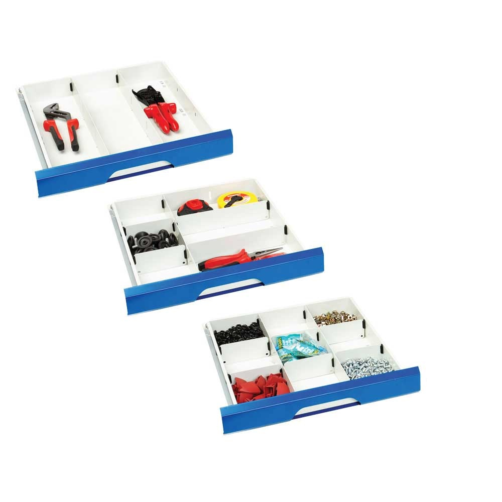 Bott drawer dividers for 500mm wide drawer cabinets ese for Kitchen cabinets 500mm wide