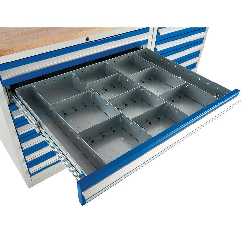 Drawer Dividers for Euroslide 900 Cabinets