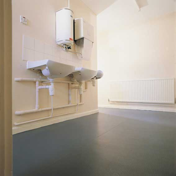 Eco Dot Recycled Vinyl Flooring 1.6mm x 980mm  25 metre roll
