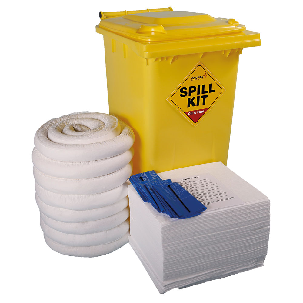 Emergency Spill Kits - 240 litre Drum Stores / Large Workshop Kit