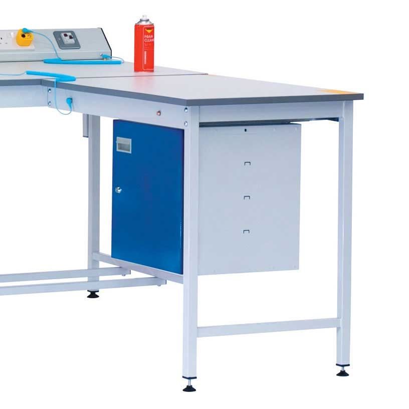 Static Control Square Tube Lamstat Extension Bench 900 x 600