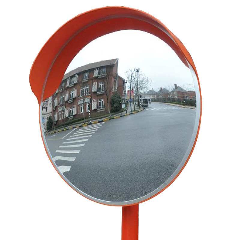 External Convex Mirror with Hood - 450mm Diameter