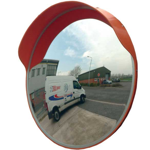 External Convex Polycarbonate Mirror - 450mm Diameter