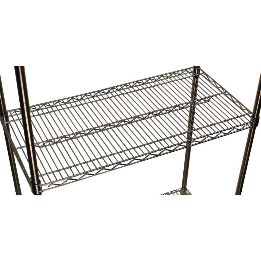 Metal Wire Shelving : Extra shelves for stainless steel wire shelving