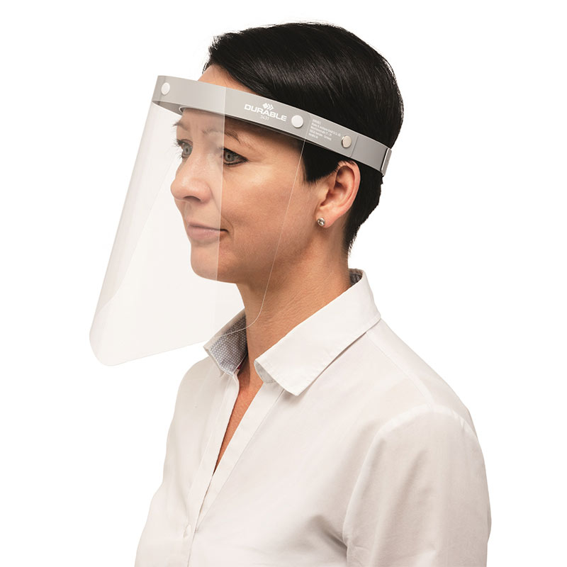 Face Shield, resusable and CE Compliant