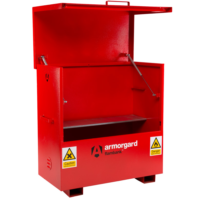 FlamBank Hazardous Storage Chest 1220h x 2380w x 1000d 250 litre sump