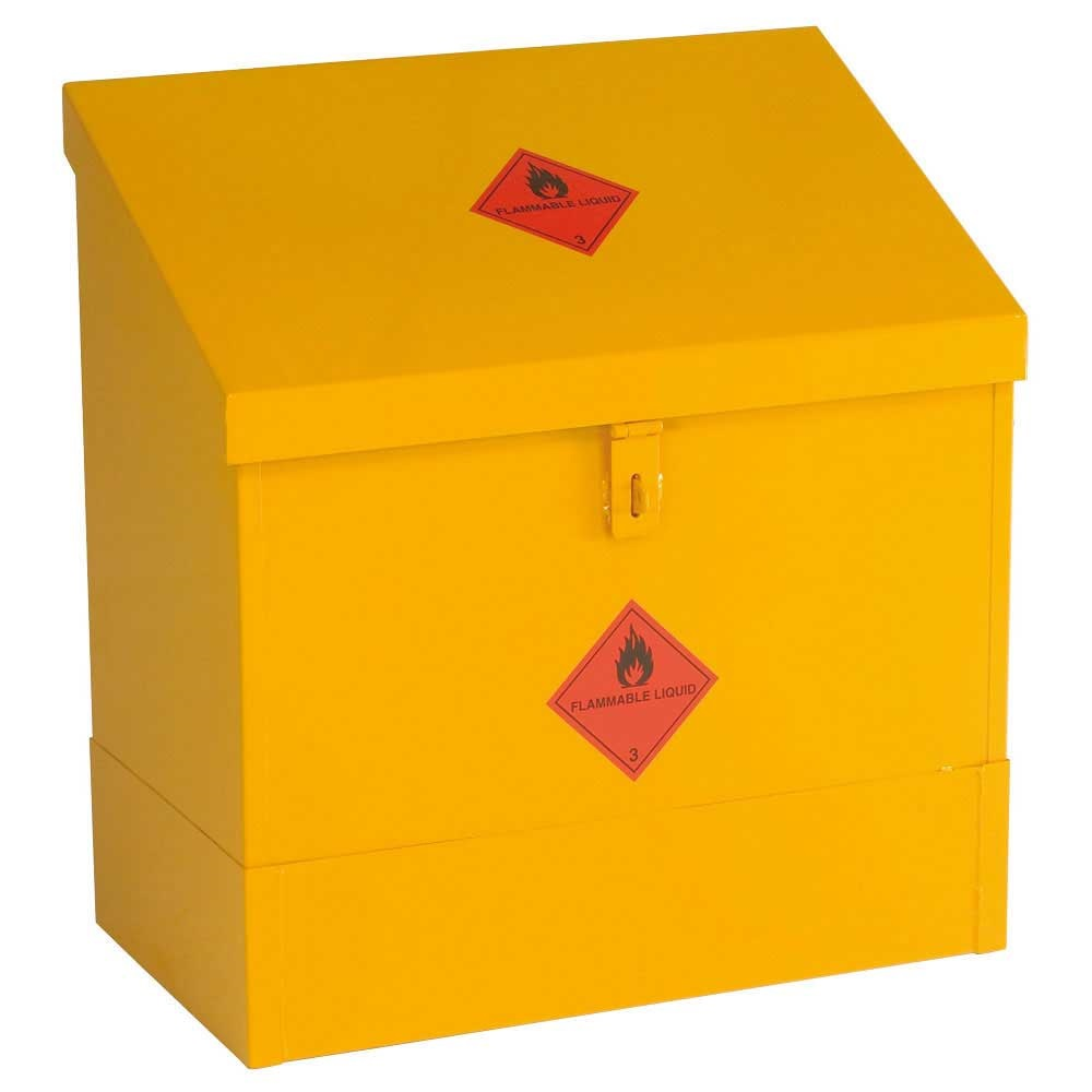 Yellow Flammable Cabinet Hazardous Storage Cabinets Chemical Coshh And Flammable Liquid
