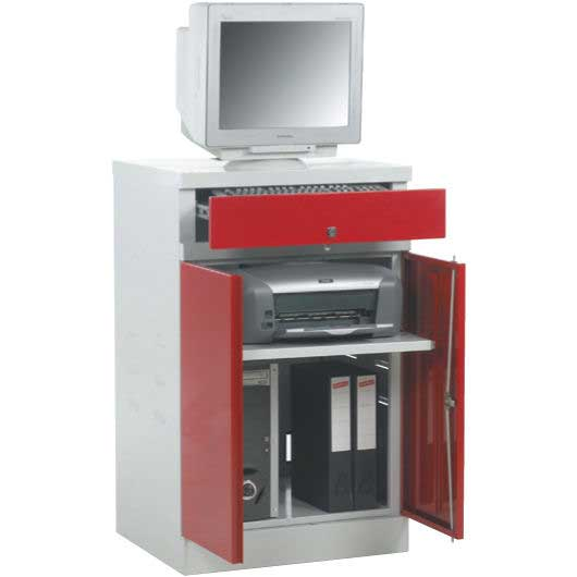 Flat Top 655mm wide Computer Workstation