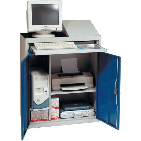 Flat Top 915mm wide Computer Workstation