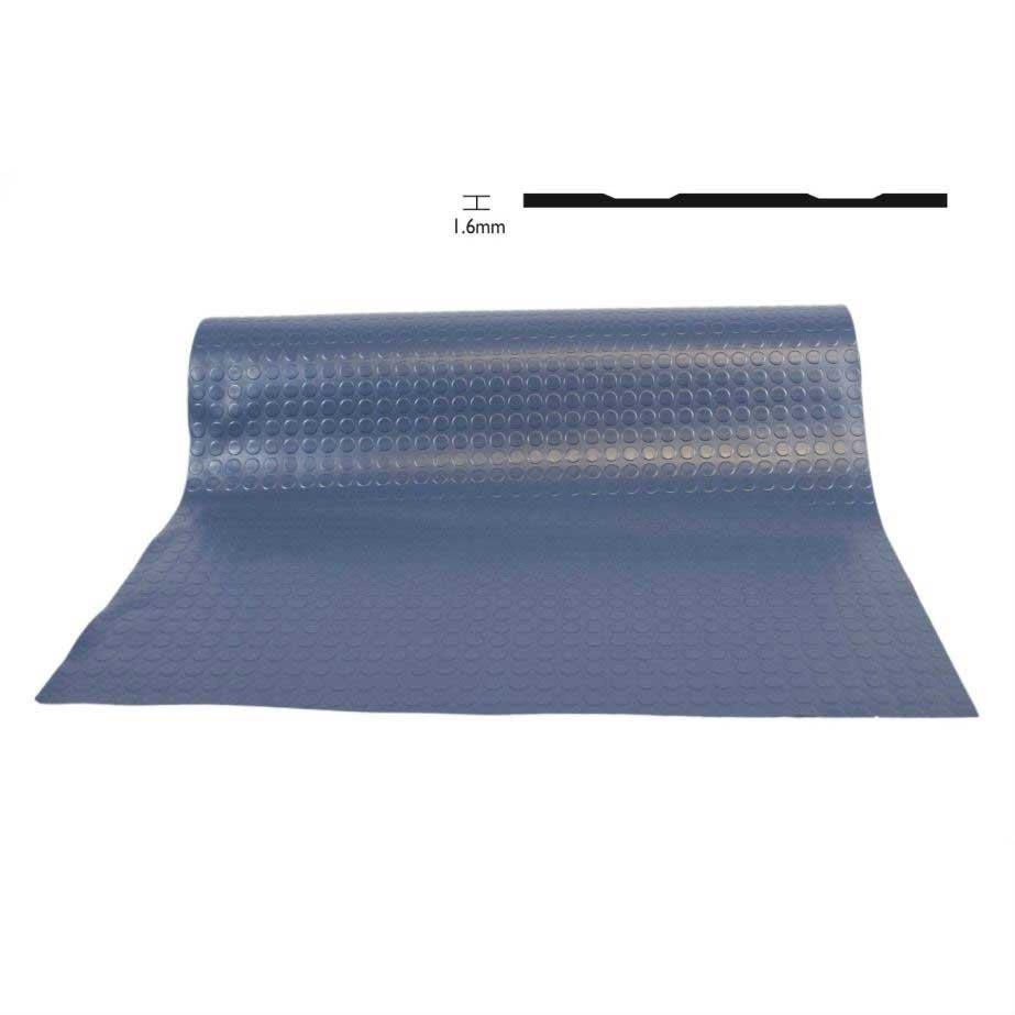 Flexi Coin Blue Vinyl Flooring 1.6mm x 1500mm  25 metre roll